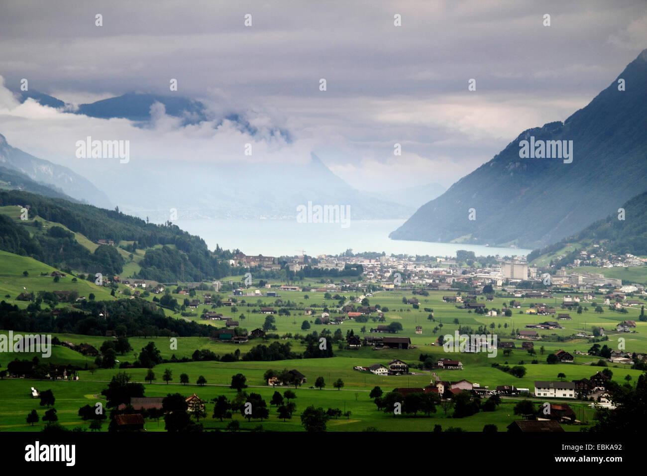Brunnen Switzerland Stock Photos & Brunnen Switzerland ...