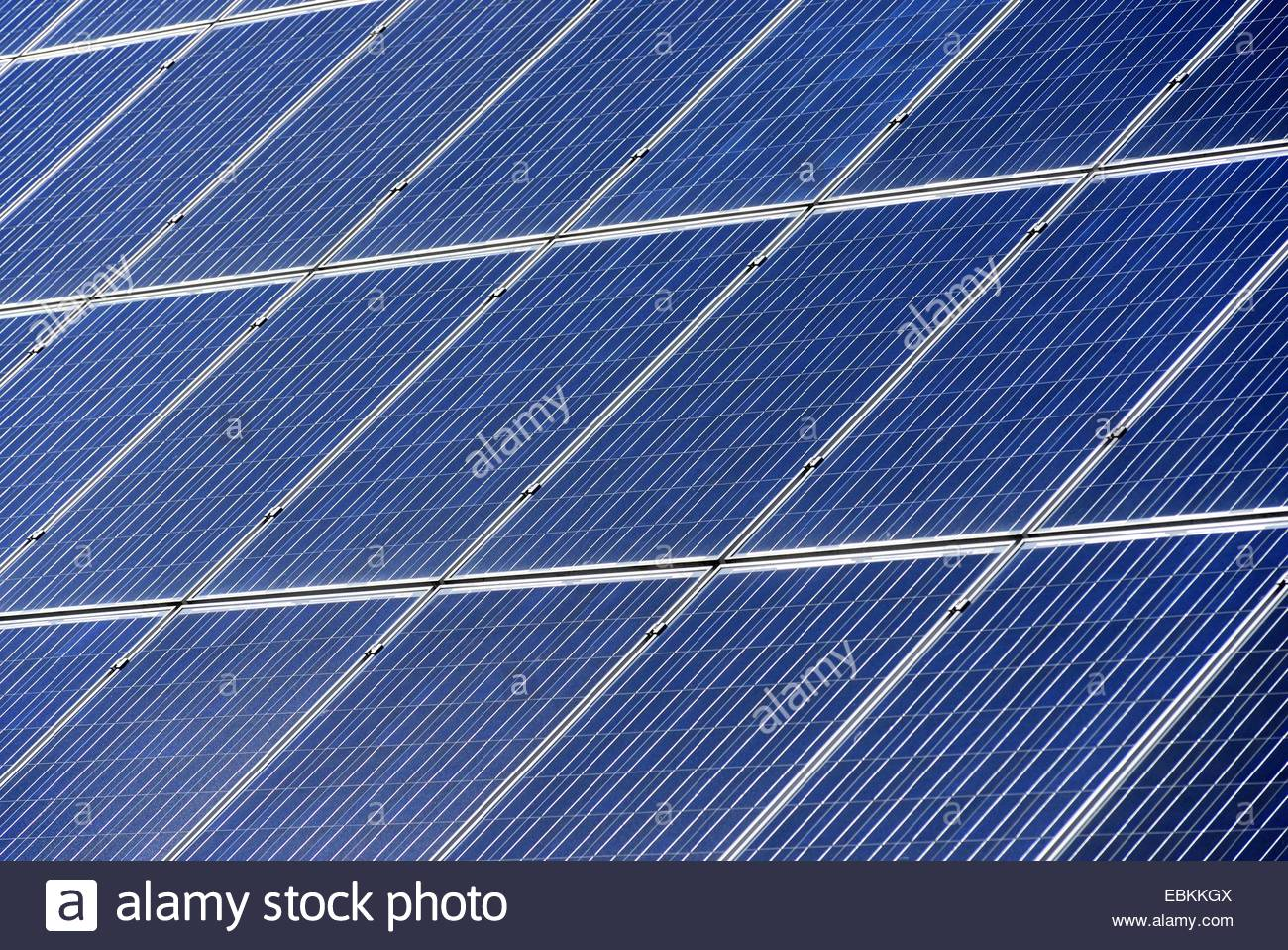 Solar Cells On The Roof Germany Stock Photo 76035146 Alamy