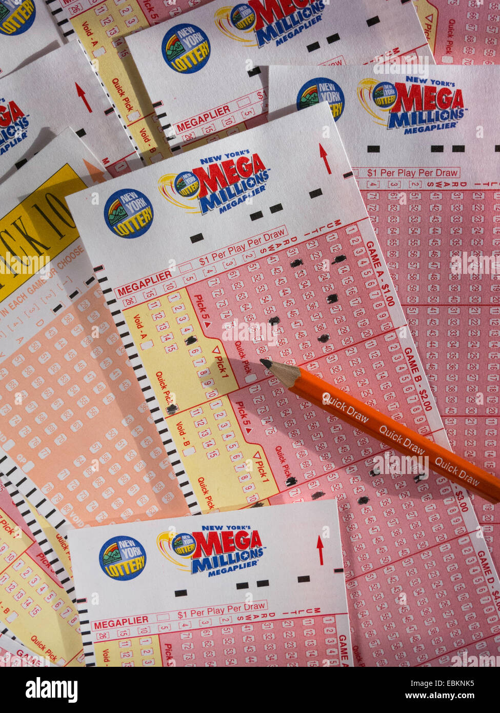 New York Lottery High Resolution Stock Photography And Images Alamy