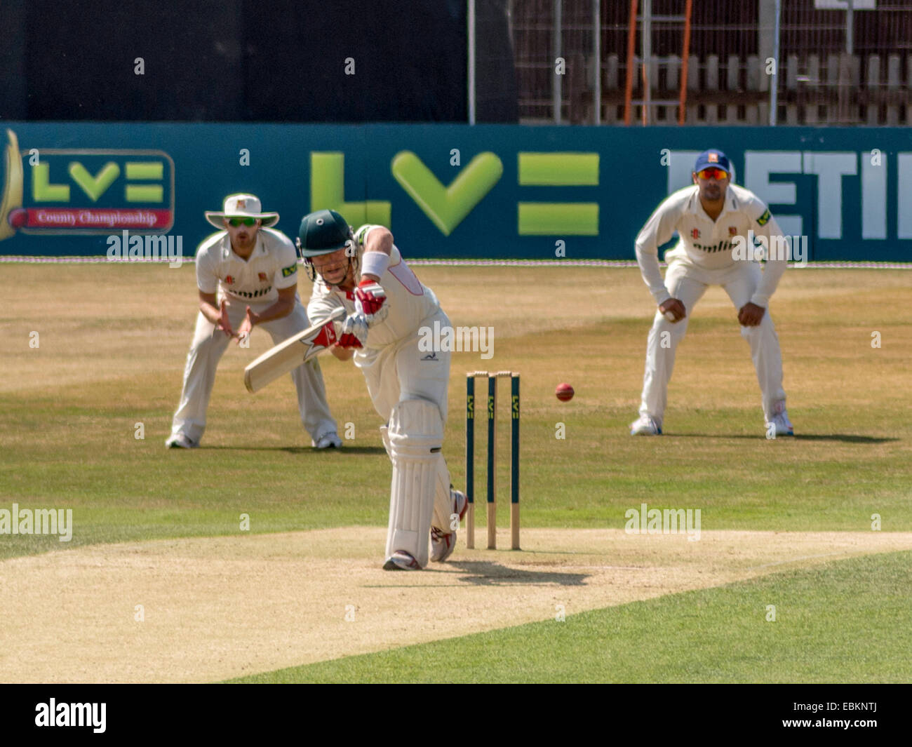 County Championship Division Two, July 2013, Essex vs. Leicestershire. Essex win by an innings and 25 runs - Stock Image