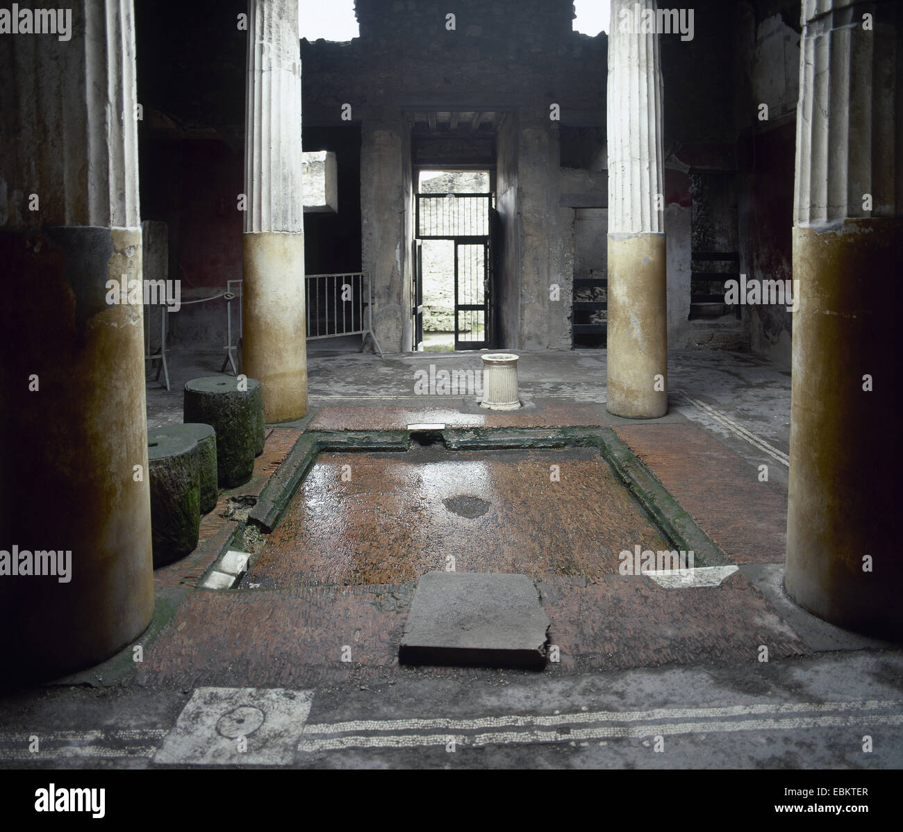 Italy Pompeii House Of Lucius Ceius Secondus Or House Of