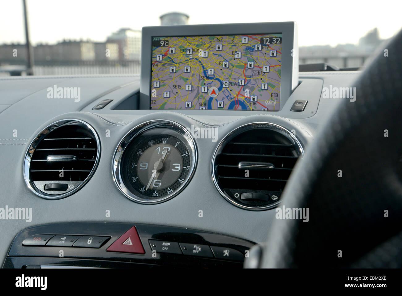 2013 Peugeot RCZ coupe sports car - Stock Image