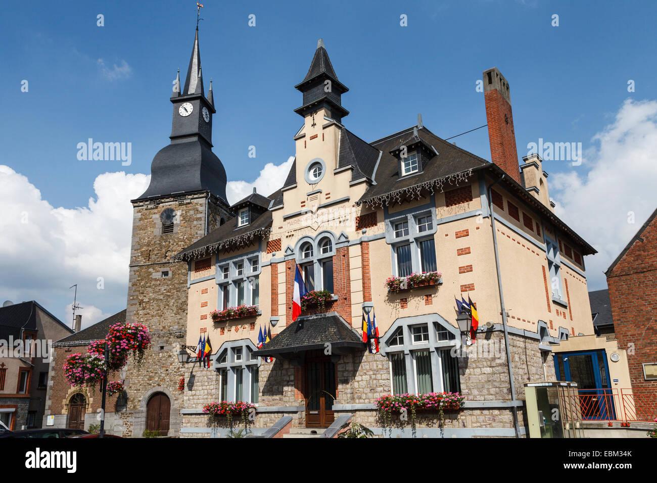 Vireux-Wallerand, Ardennes, France - Stock Image