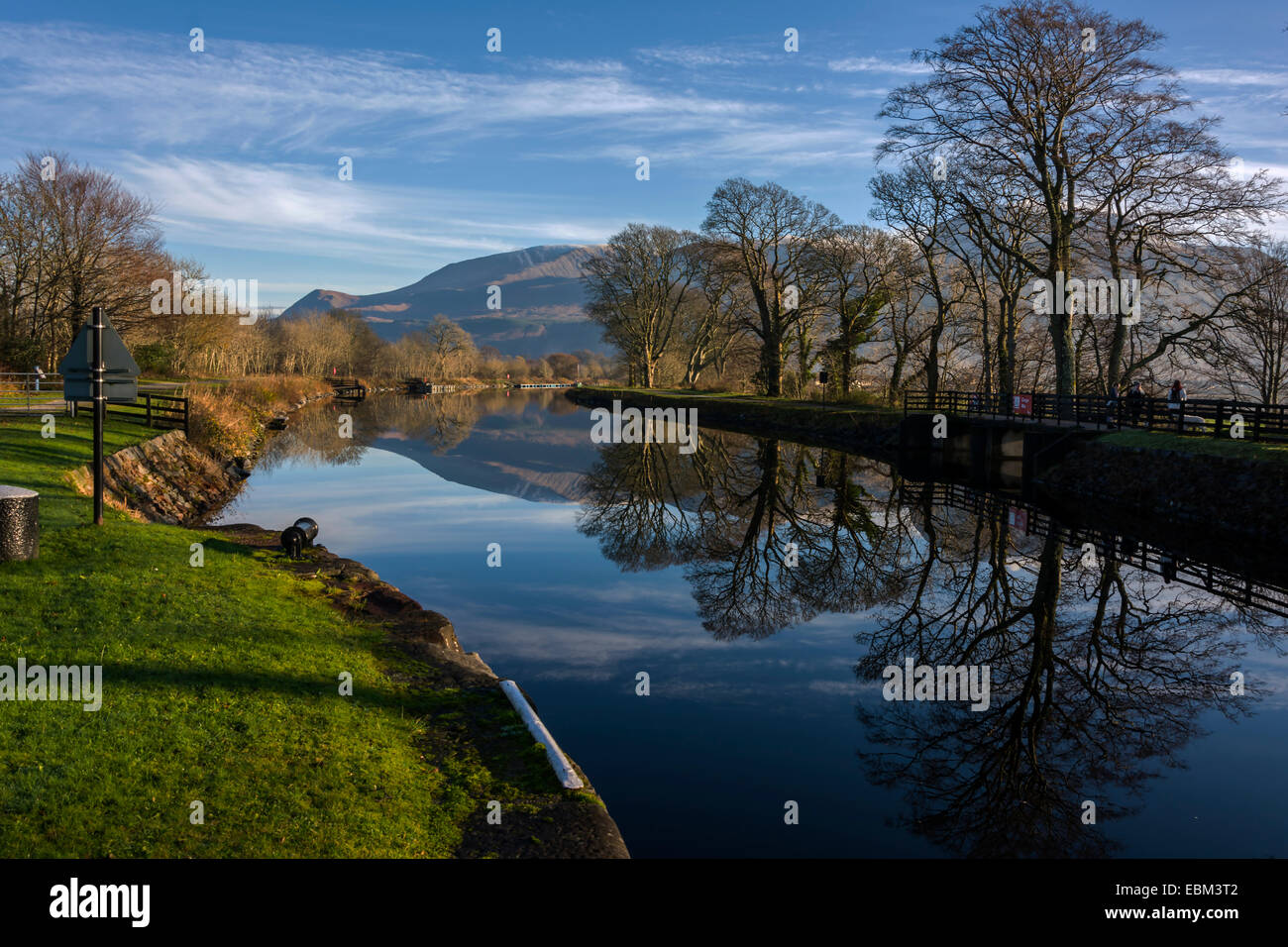 Caledonian Canal, Corpach, Fort William, Scotland, United Kingdom Stock Photo