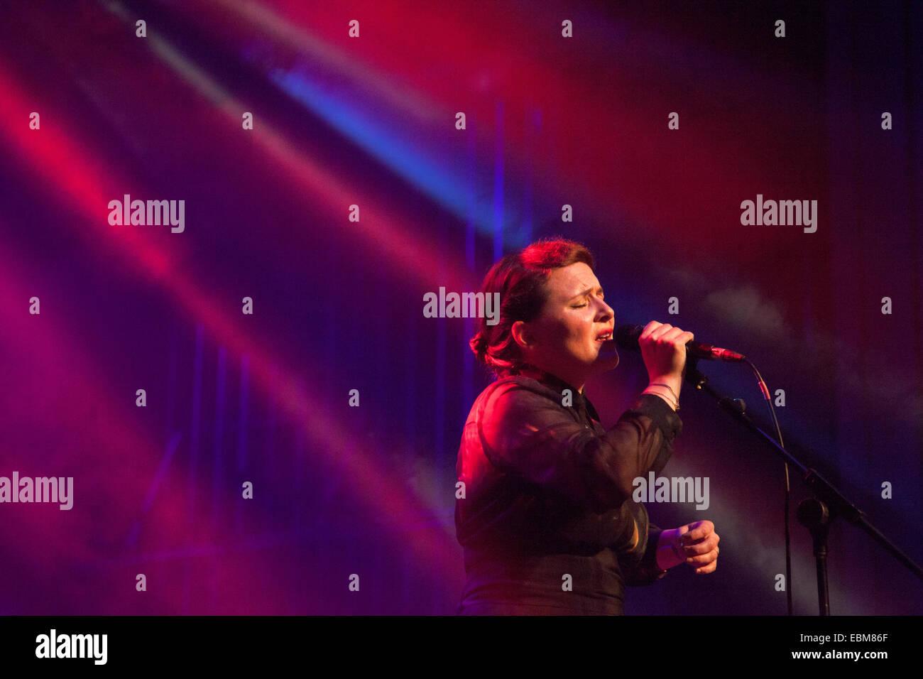 Emiliana Torrini at Ja Ja Ja Festival in London, England 15 November 2014 - Stock Image