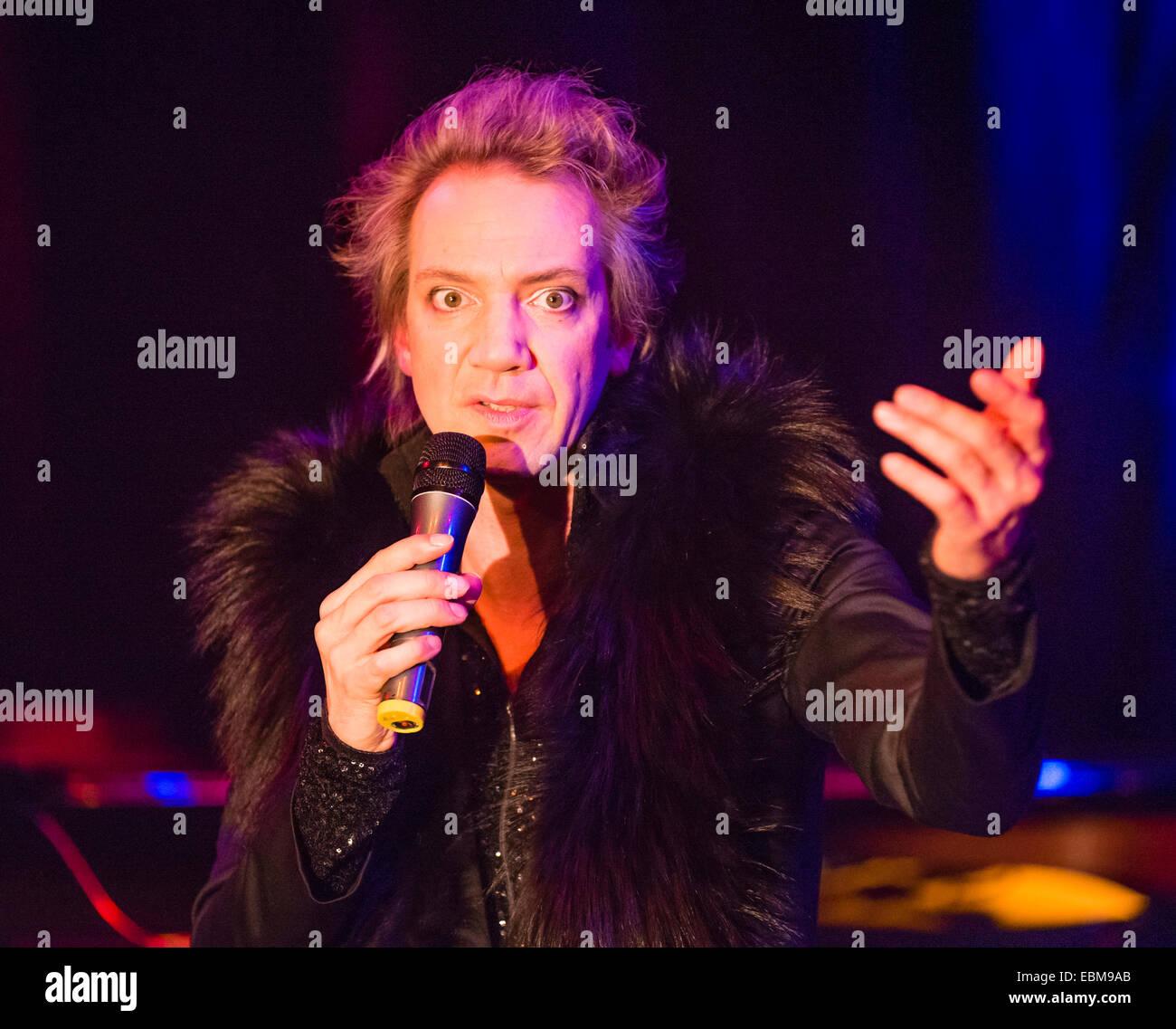 Entertainer Sven Ratzke shows his performance  'Diva Diva's'. - Stock Image