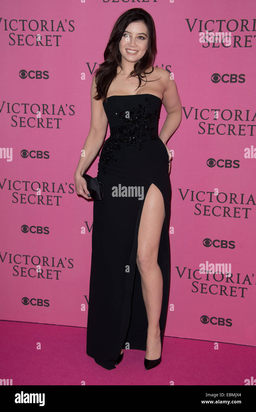 3cae6ad53b Daisy Lowe at the Victoria s Secret fashion show in London. - Stock Image