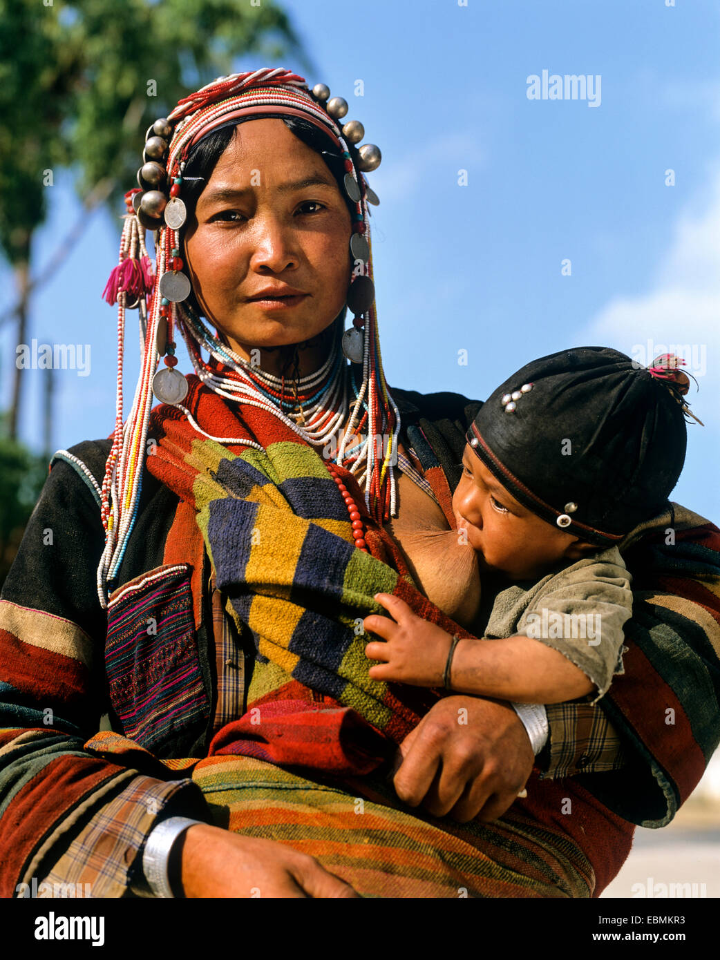 Ethnic Woman Breastfeeding Stock Photos Amp Ethnic Woman