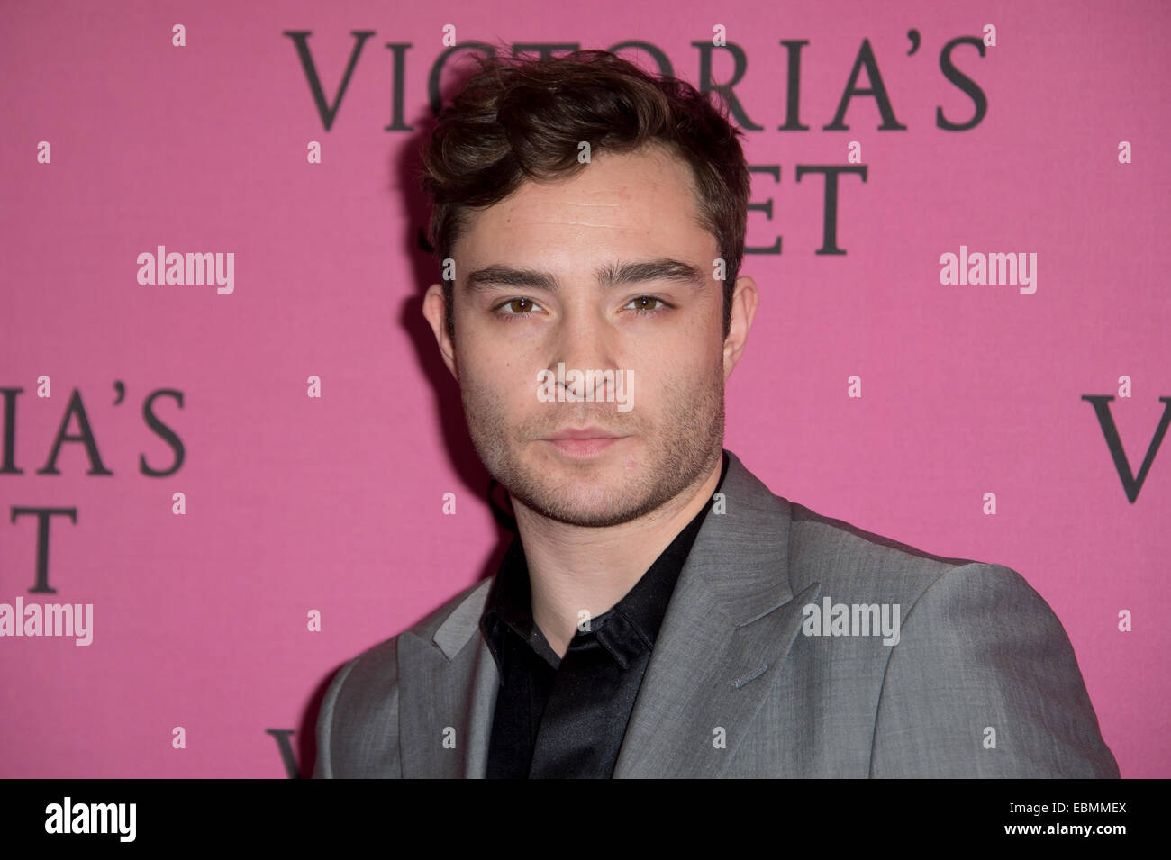 Ed Westwick at the Victoria's Secret fashion show in London. - Stock Image