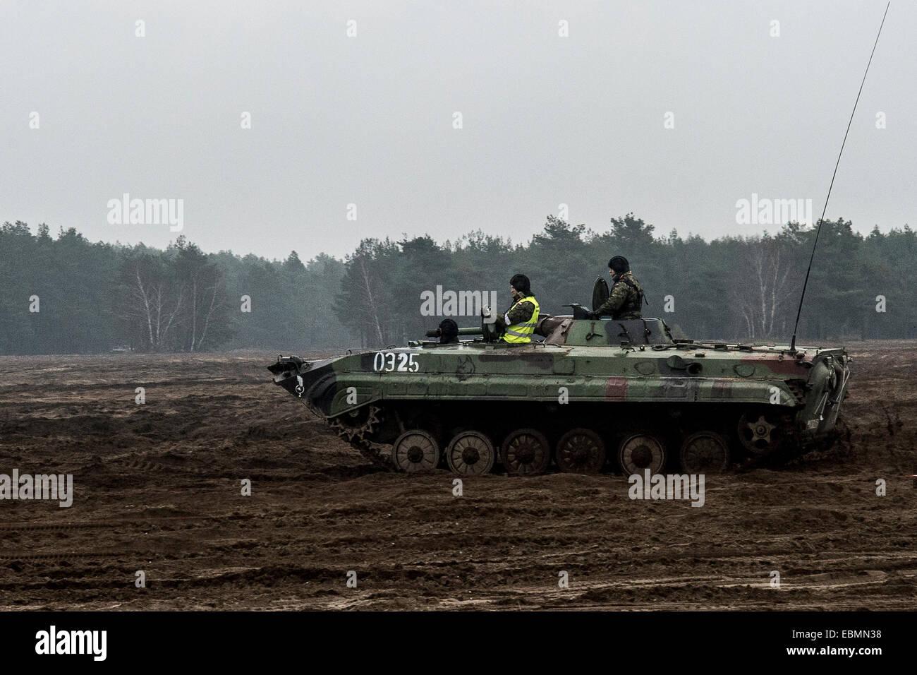 bmp-1 infantry FIGHTING VEHICLE MICV - Stock Image