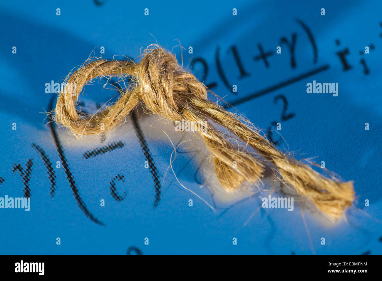 String theory concept. - Stock Image