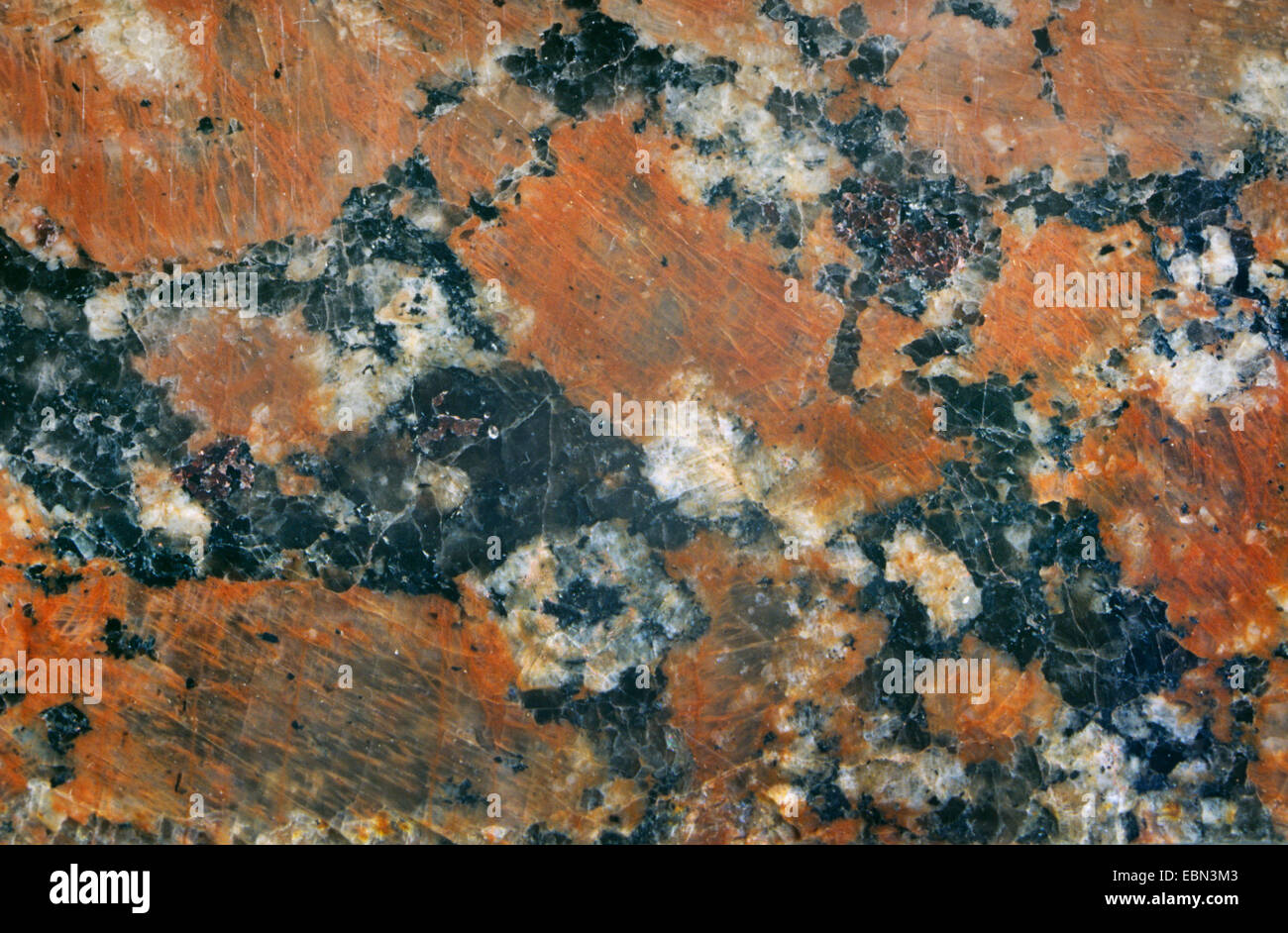 granite from Ukraine, Ukraine - Stock Image
