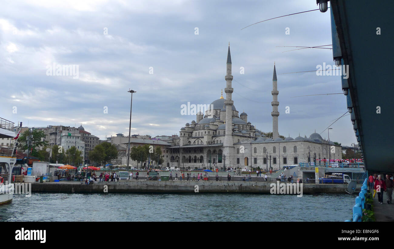 New Mosque, Yeni Cami, Turkey, Istanbul - Stock Image