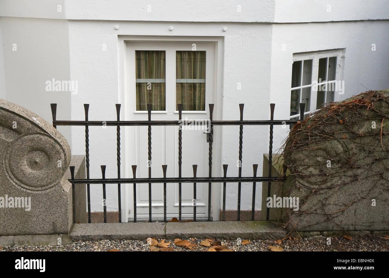 Basement door at the Royal Palace Marselisborg at Aarhus Denmark - Stock Image & Basement Door Stock Photos u0026 Basement Door Stock Images - Alamy