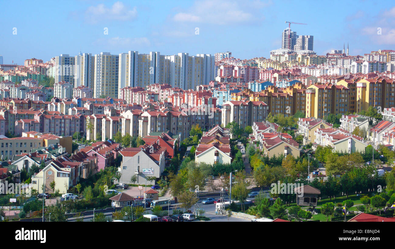 Bahcesehir district, Turkey, Istanbul - Stock Image