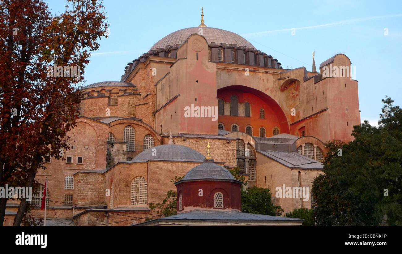 Hagia Sophia, Turkey, Istanbul - Stock Image