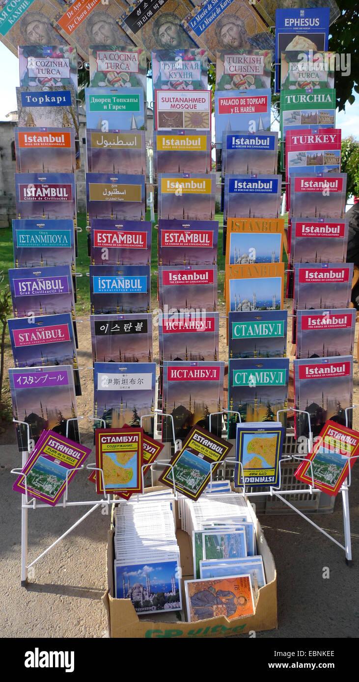 Istanbul guidebooks, Turkey, Istanbul - Stock Image