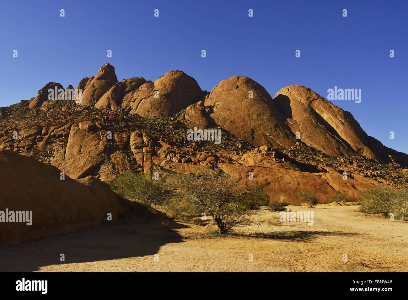 Spitzkoppe mountain near Windhoek, Namibia, Swakopmund - Stock Image