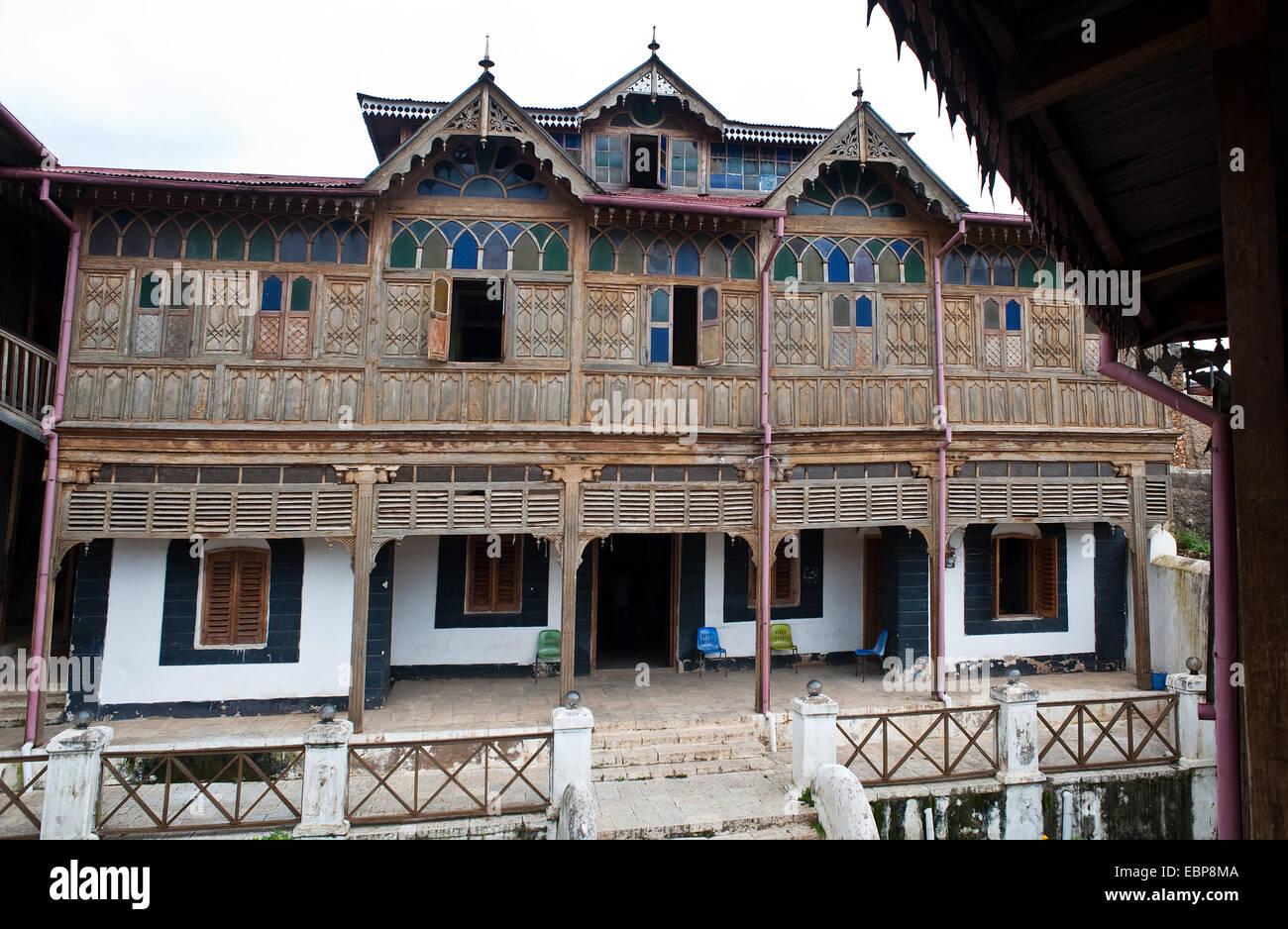 Rimbaud's house ( Ethiopia) - Stock Image