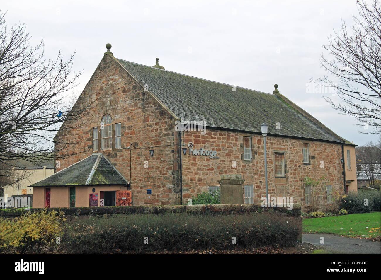 North Ayrshire Heritage Centre, Saltcoats, North Ayrshire, County of Ayr, Scotland, Great Britain, United Kingdom, - Stock Image