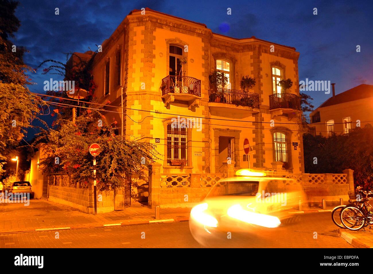 House in Neve Tsedek, Tel Aviv, Israel - Stock Image