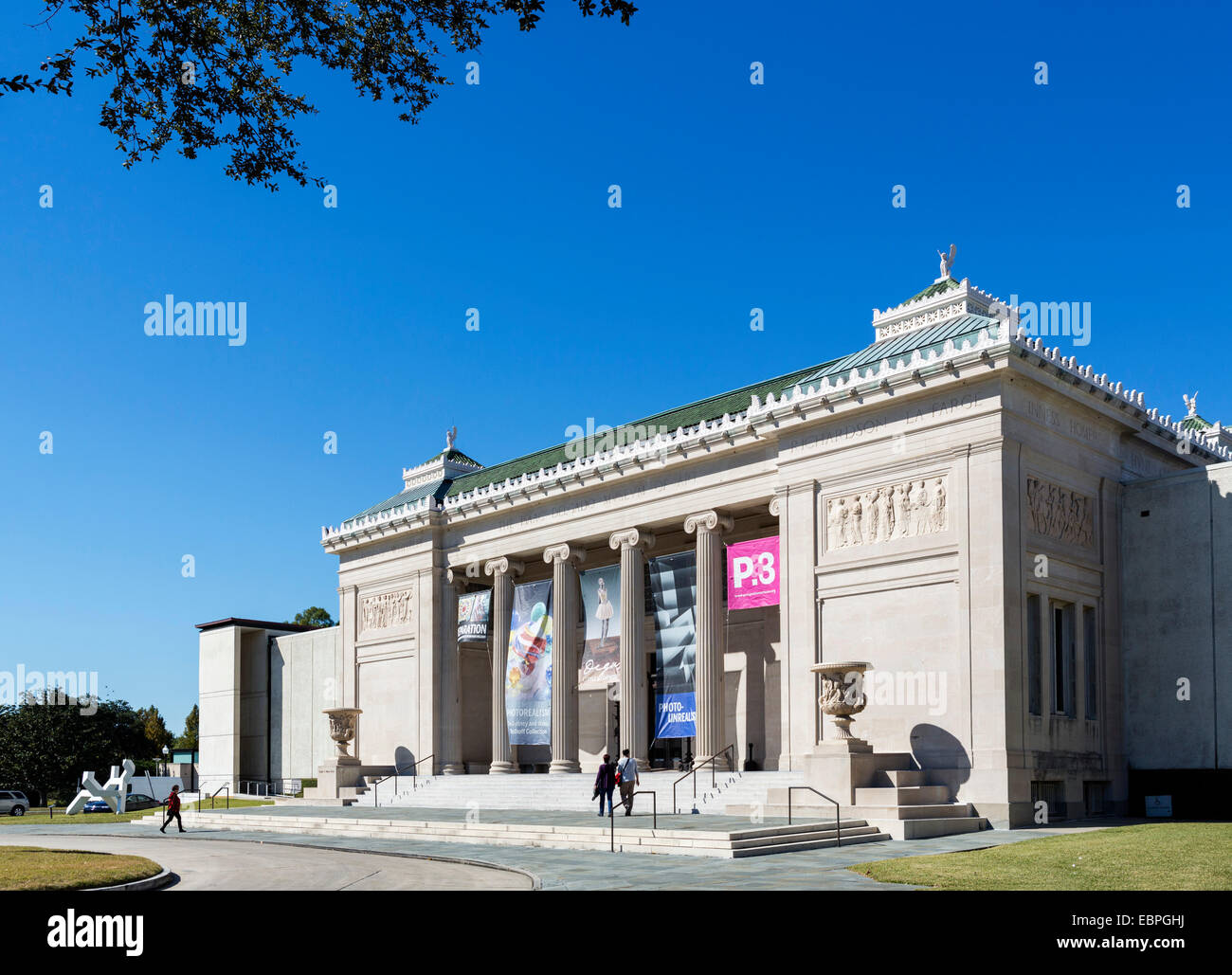 The New Orleans Museum of Art, New Orleans, Lousiana, USA - Stock Image