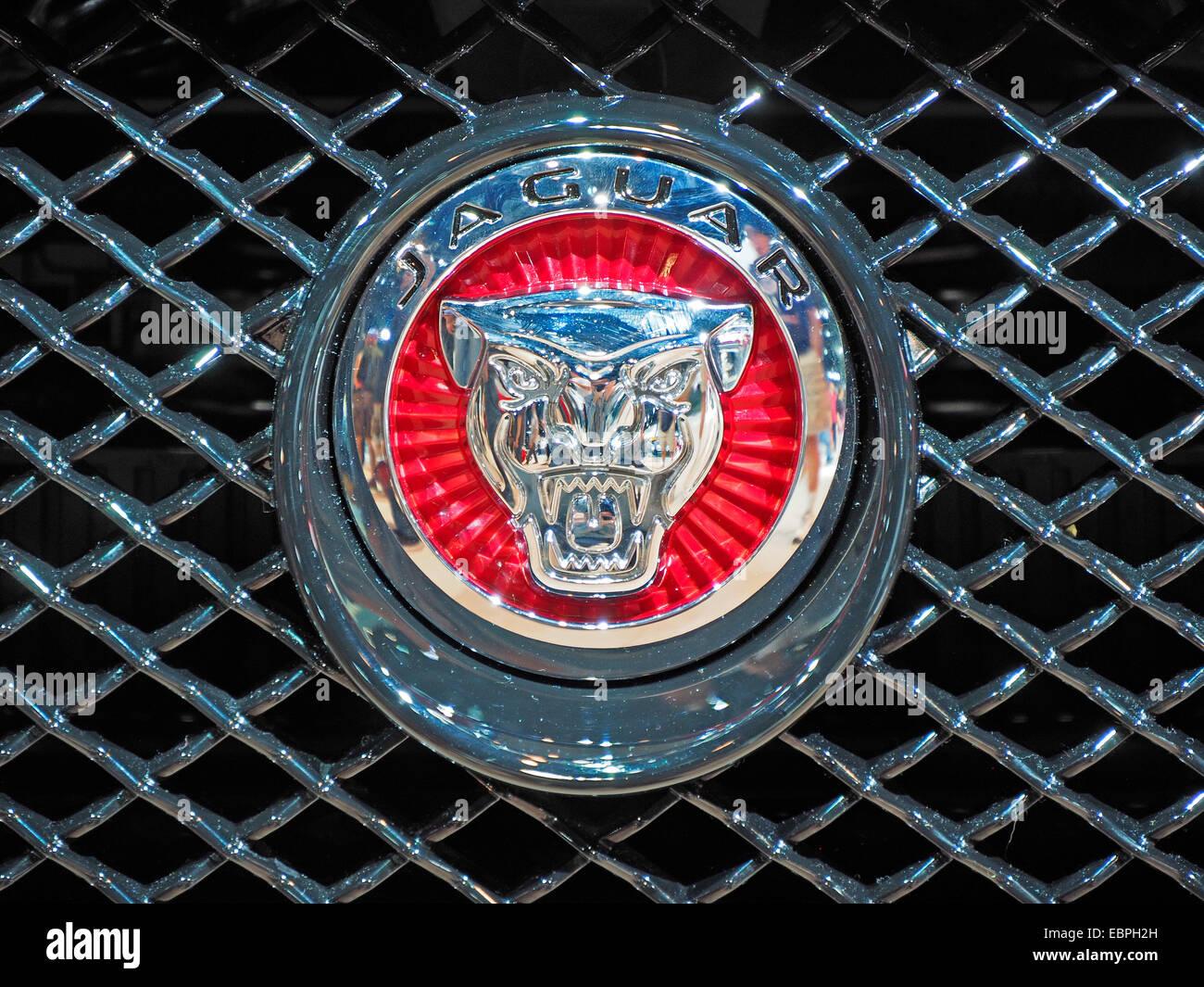 New Genuine Jaguar R insignia De Rejilla