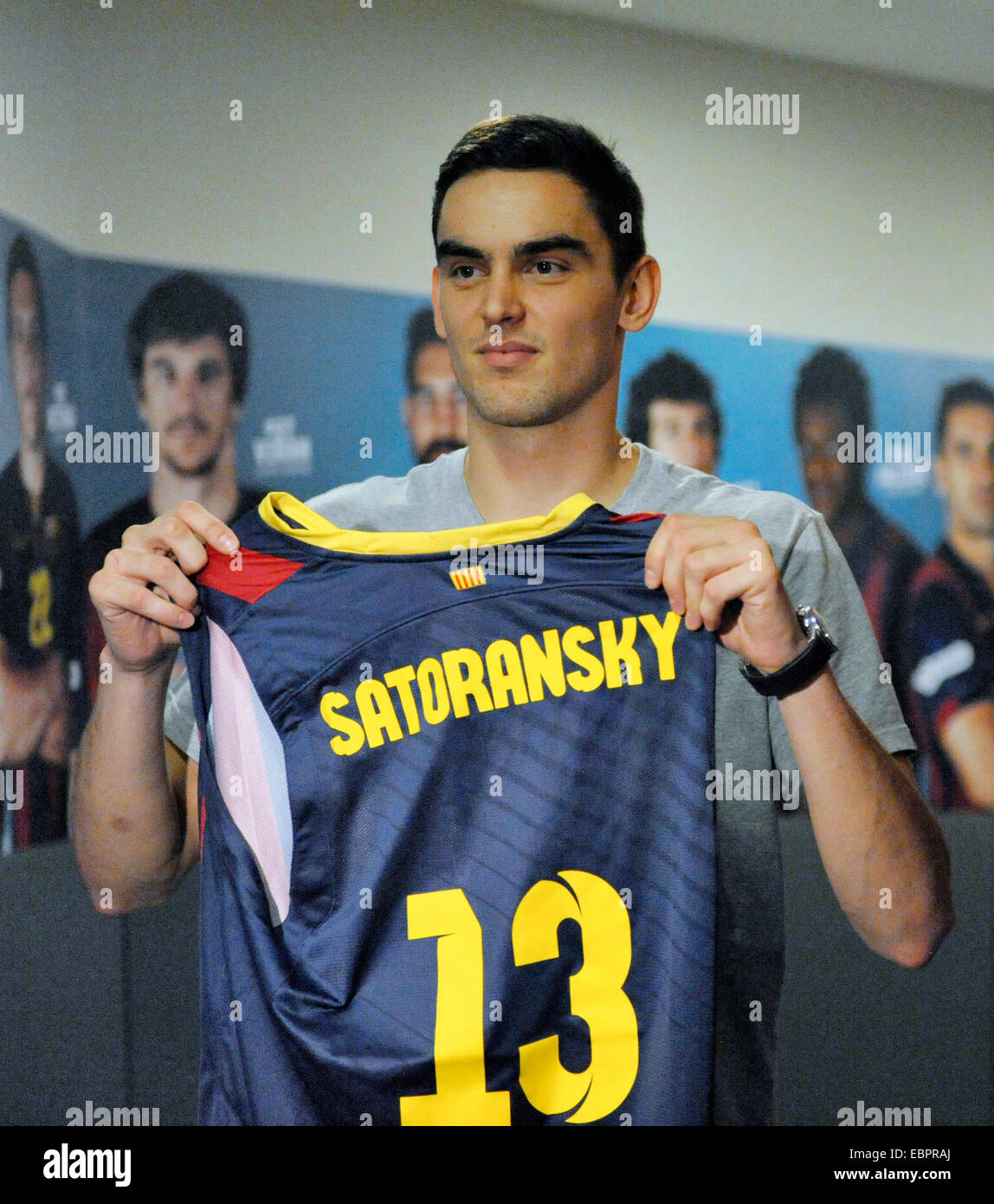 half off 45a1e 5144d Czech Republic's player Tomas Satoransky of FC Barcelona ...