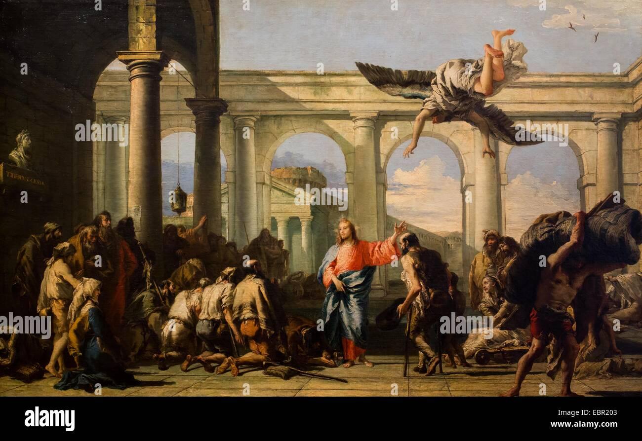 ActiveMuseum 0001928 Jesus Healing The Paralytic Of Bethesda Circa 1780