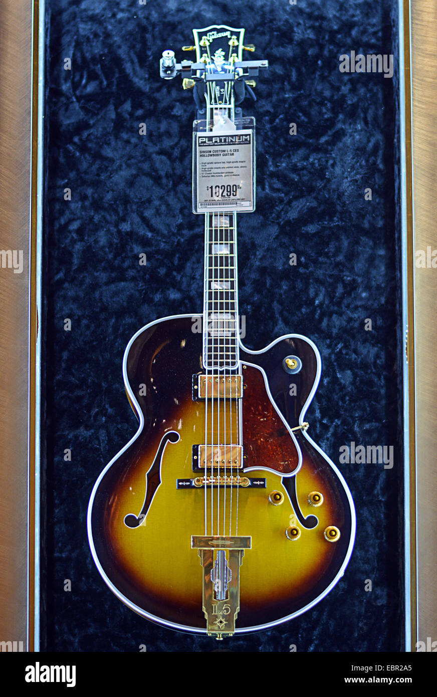 A vintage Gibson custom L-5 CES guitar for sale at the