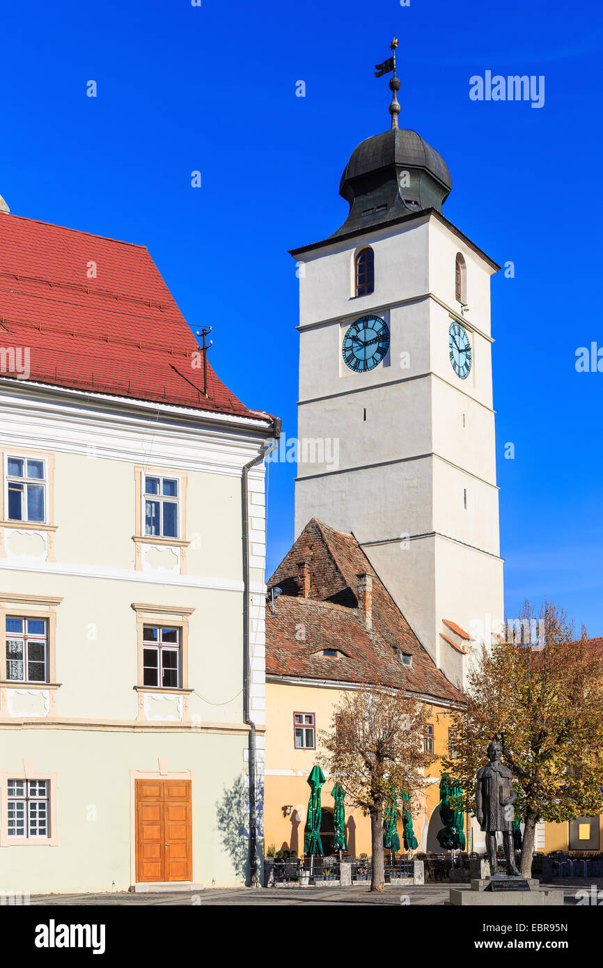 Sibiu ( Hermannstadt ) Romania - Stock Image