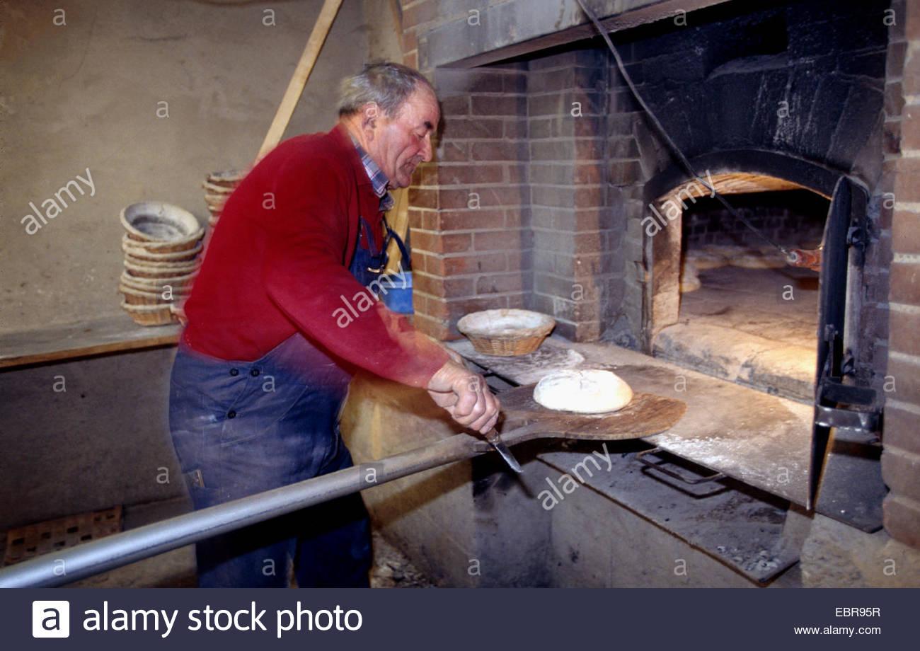 Leavened bread, Dordogne Stock Photo