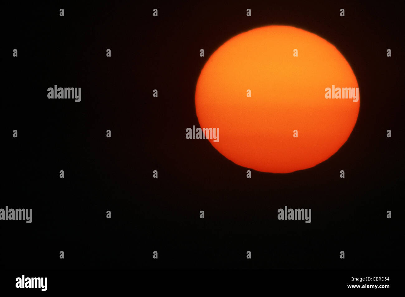 sunset, Iraq, Rumaila - Stock Image