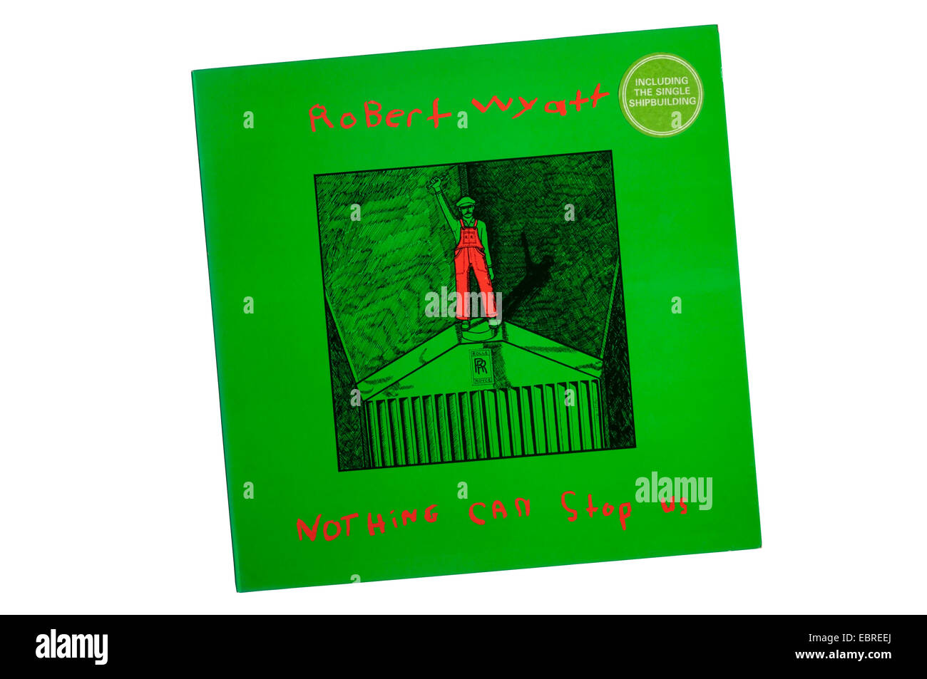 Nothing Can Stop Us was a compilation album by Robert Wyatt released in 1982. - Stock Image