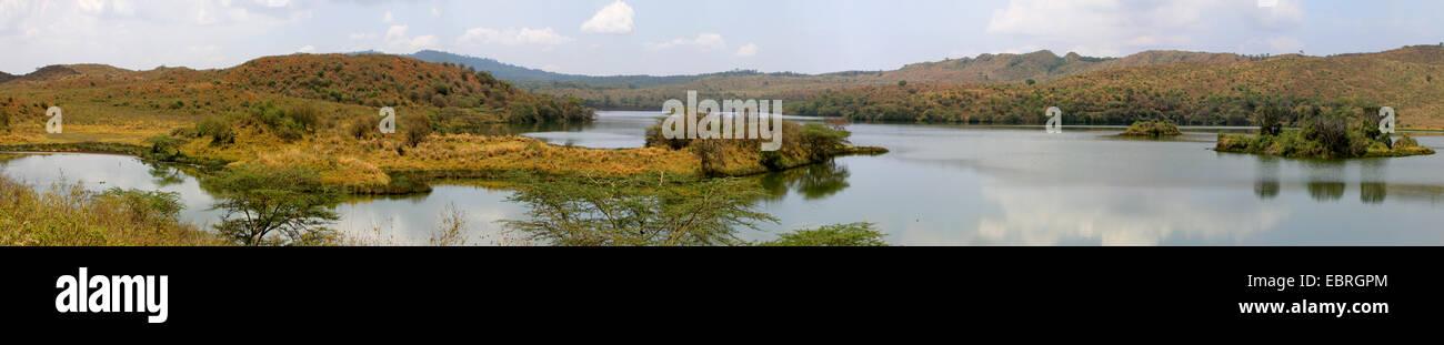 Momella Lakes, Tanzania, Arusha National Park - Stock Image