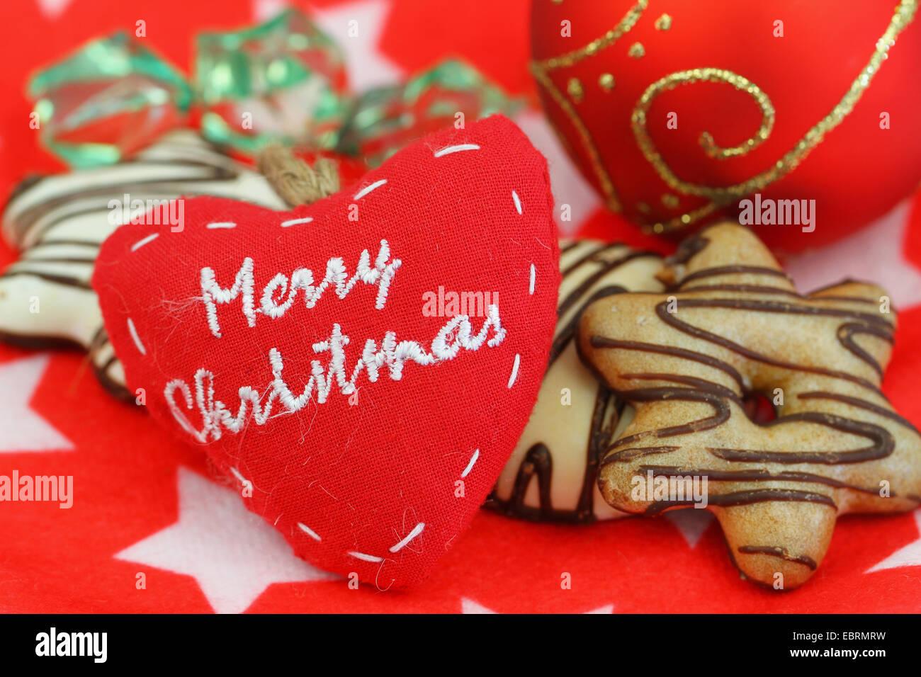 Merry Christmas On Canvas Heart Stock Photos & Merry Christmas On ...