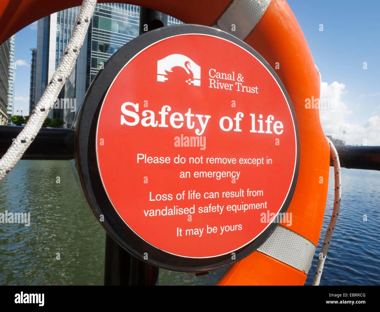 Lifebelt - Stock Image