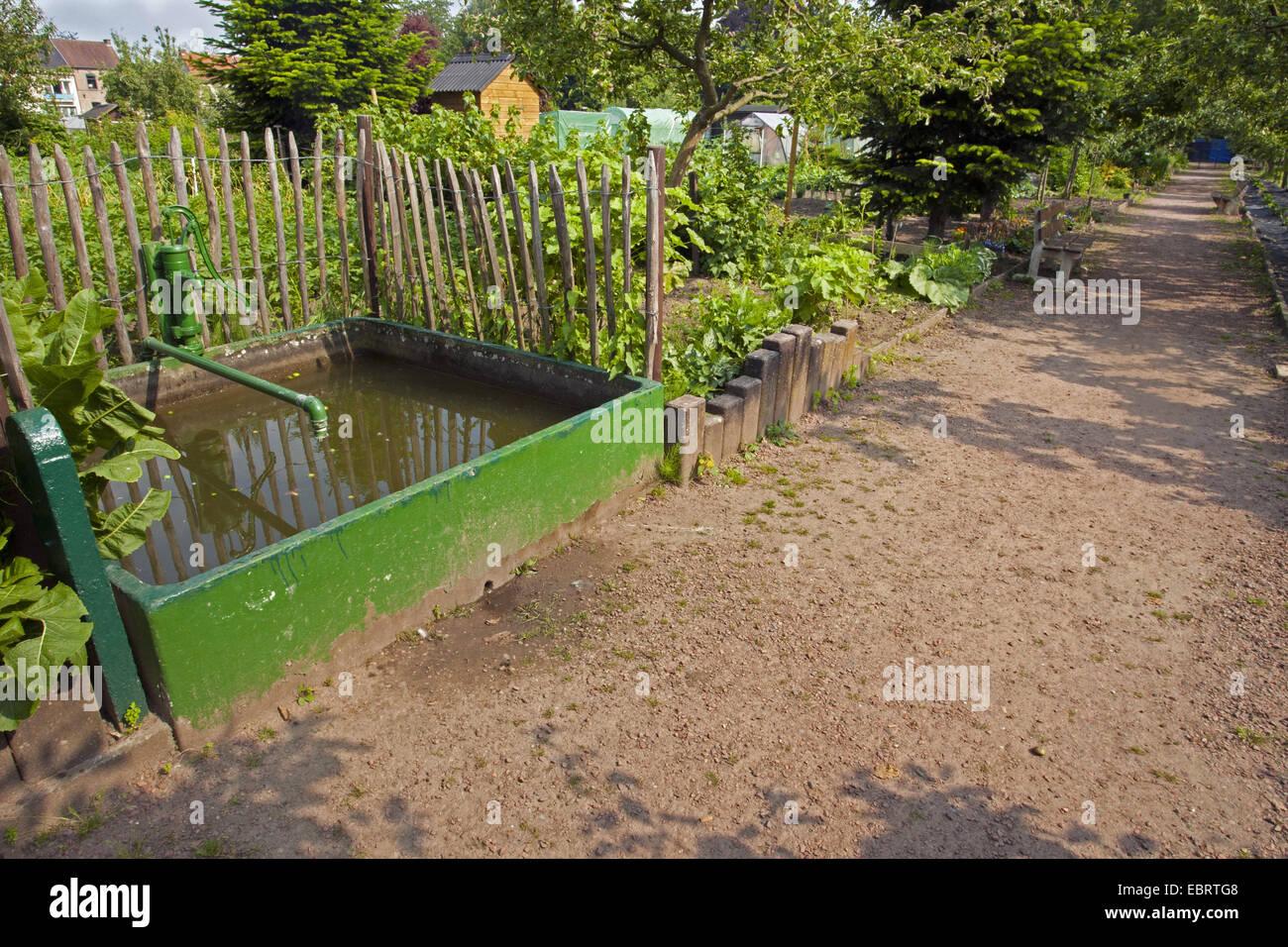 Water Tap In A Garden Stock Photos & Water Tap In A Garden Stock ...