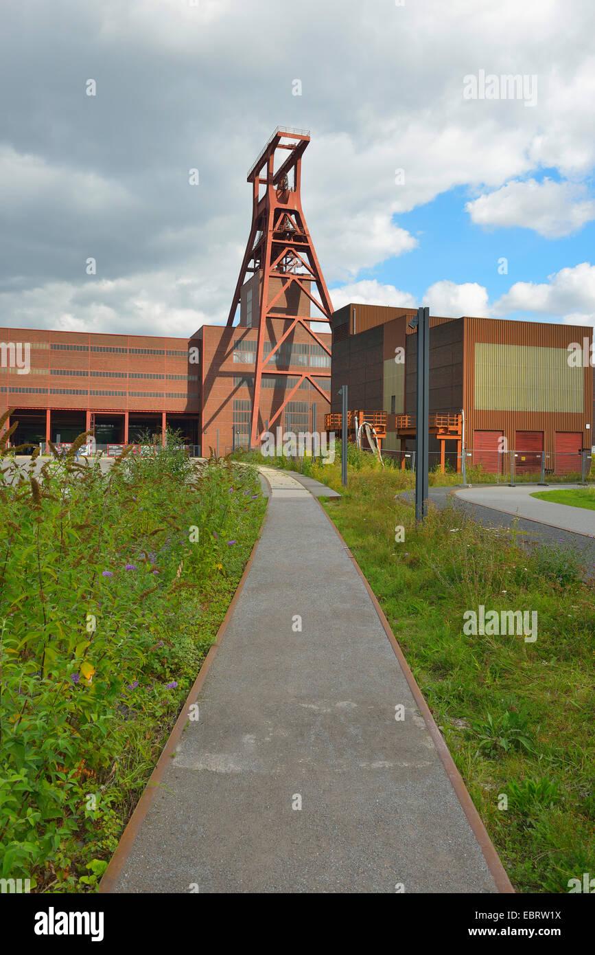 Zeche Zollverein, Germany, North Rhine-Westphalia, Ruhr Area, Essen - Stock Image
