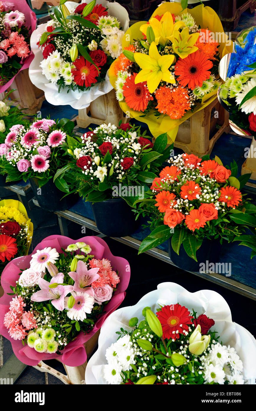 Nice Flower Bouquets Stock Photos Nice Flower Bouquets Stock
