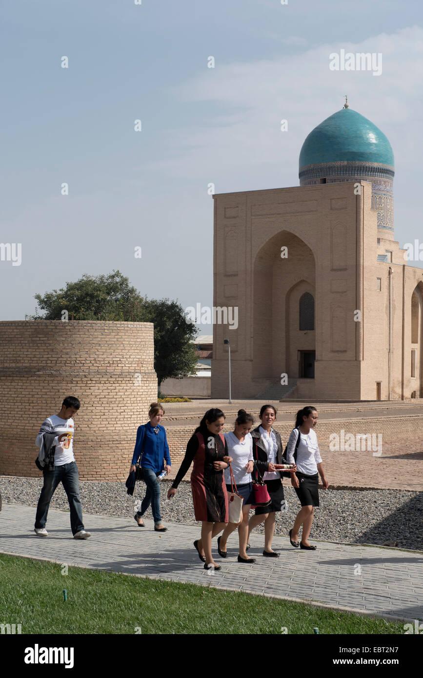 Bibinoxym mausoleum, Samarkand,  Uzbekistan, Asia, UNESCO heritage site - Stock Image