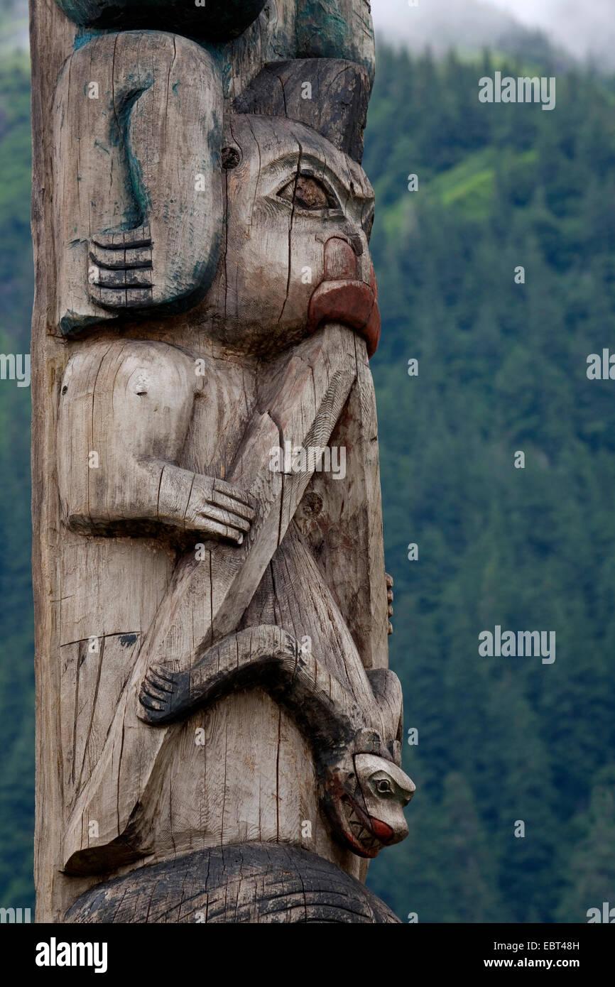 , USA, Alaska, Juneau - Stock Image