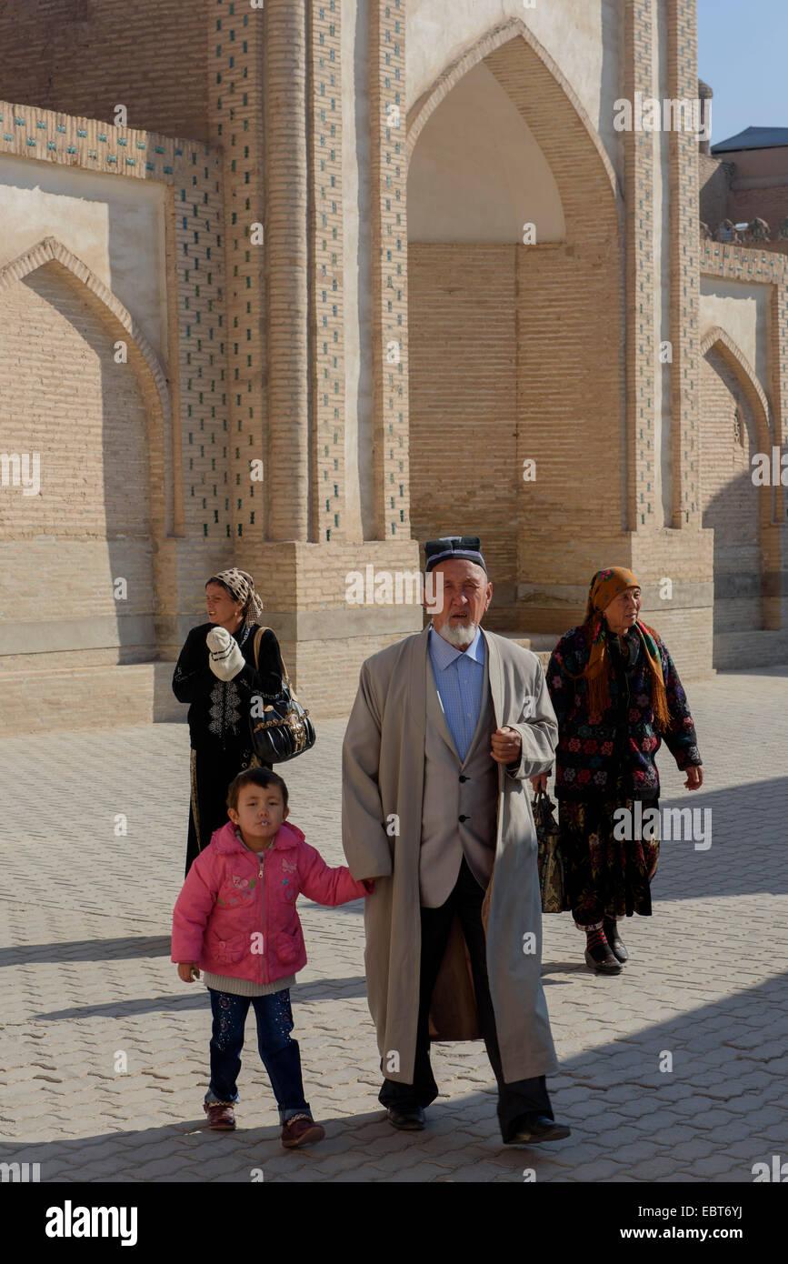 in the  hitoric city Ichan Qala, Chiwa, Uzbekistan, Asia - Stock Image