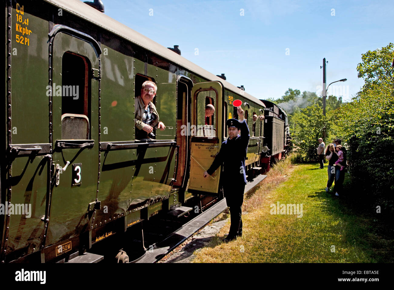 Ruhr Valley Railway, Germany, North Rhine-Westphalia, Ruhr Area, Witten - Stock Image