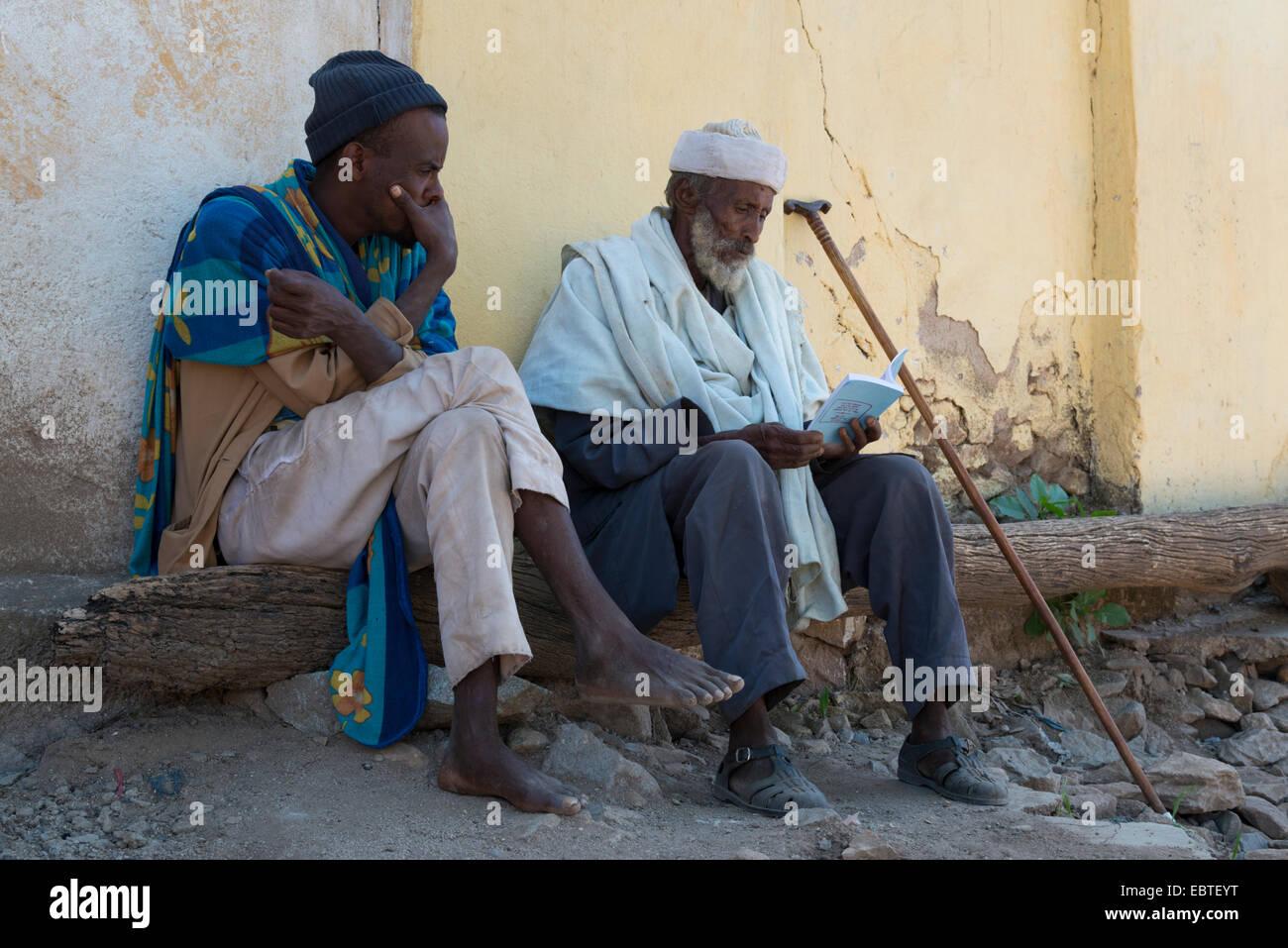 Aksum Old City. Northern Ethiopia. - Stock Image