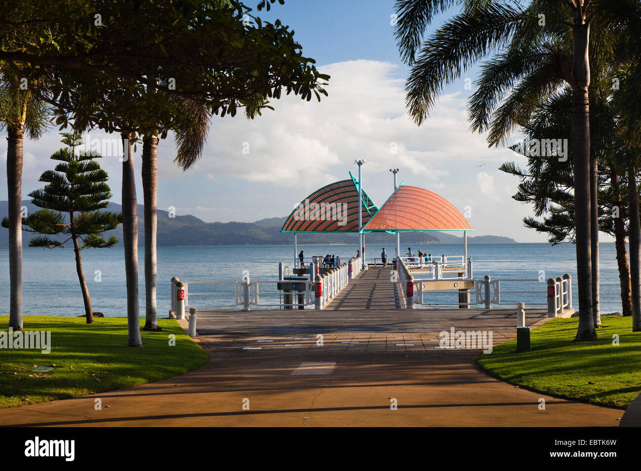 The Strand, Australia, Queensland, Townsville - Stock Image