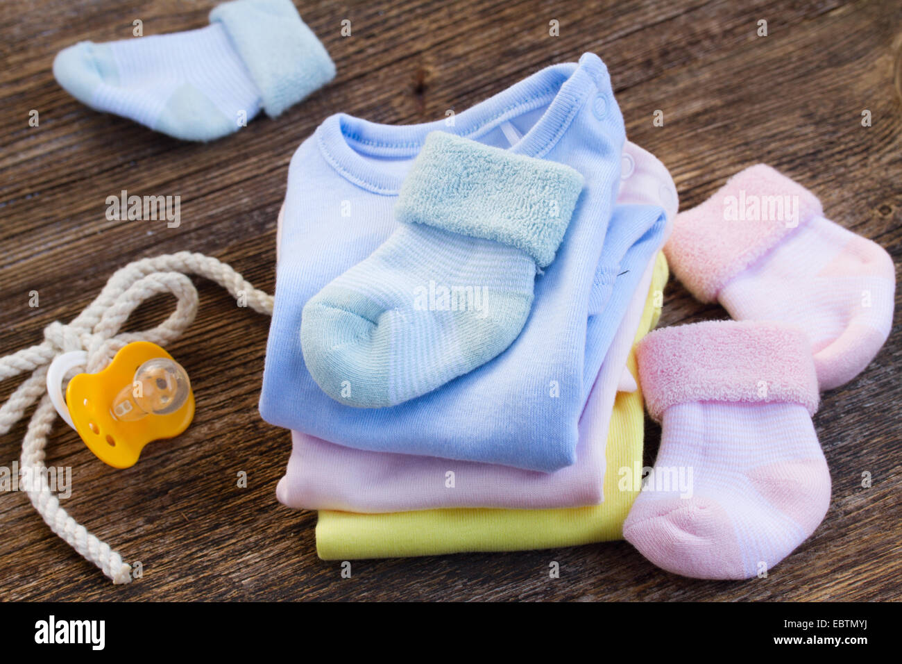 baby clothes - Stock Image