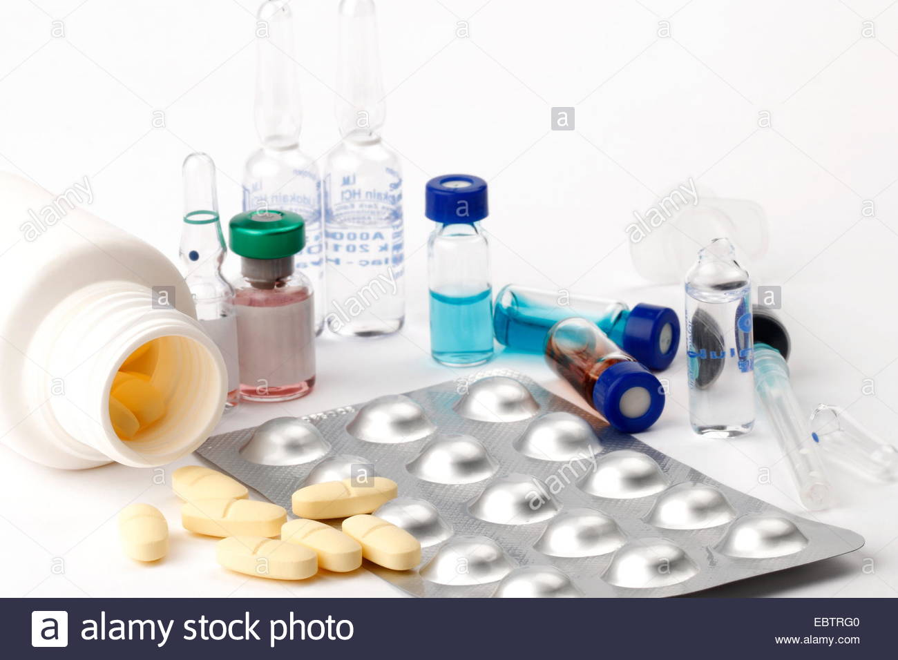 pills/drug - Stock Image