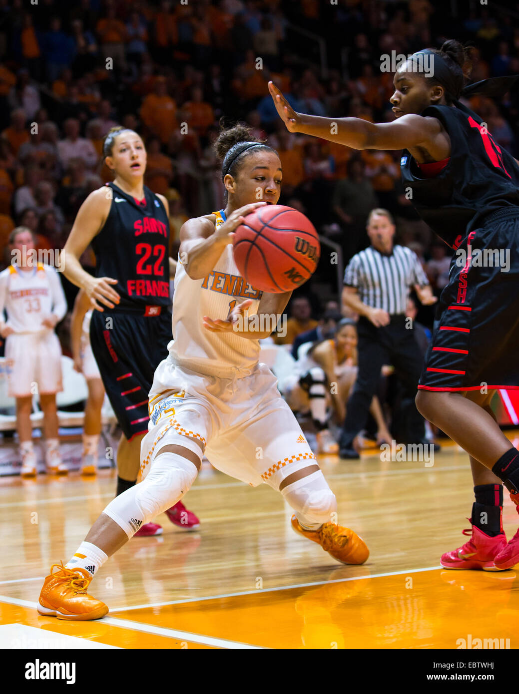 December 3 2014andraya Carter 14 Of The Tennessee Lady Volunteers