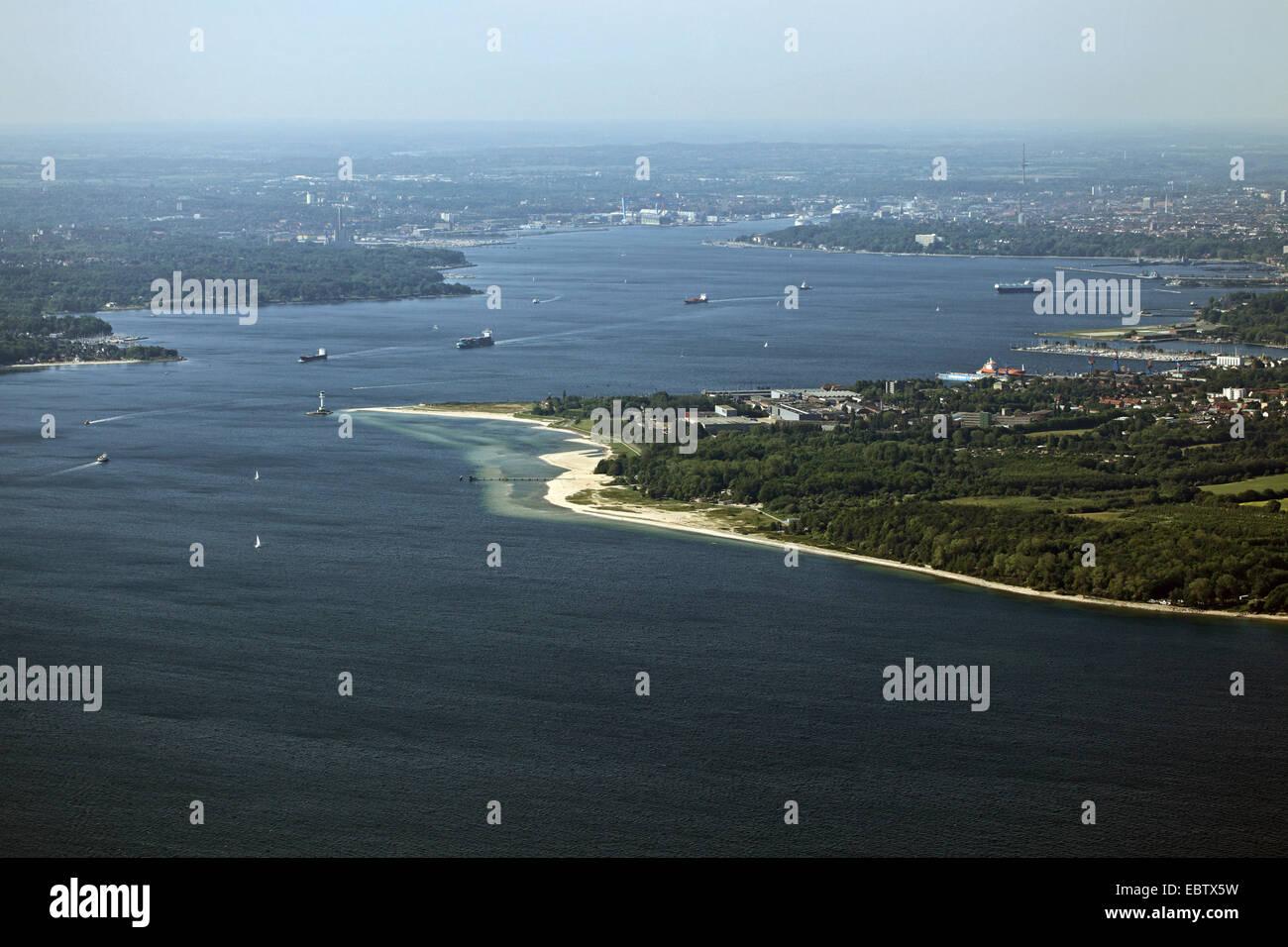 Bay of Kiel, Germany, Kiel - Stock Image